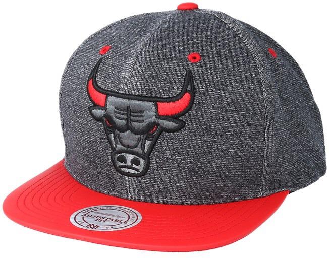 070a4800eee1c Boné Mitchell   Ness Chicago Bulls Snapback - R  130