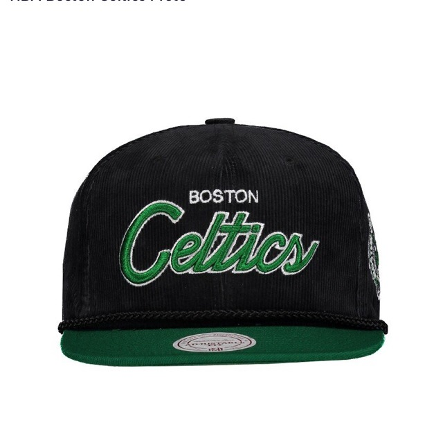 39f7408d67802 Boné Mitchell   Ness Nba Snapback Boston Celtics - R  129
