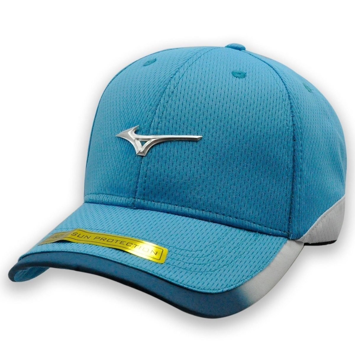 Boné Mizuno Golf Boné Aba Curva Flexfit Lançamento Snapback - R  56 ... 0c45aca4823