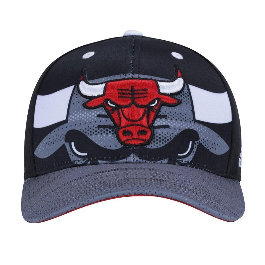 boné nba chicago bulls aba reta snapback - basquete. Carregando zoom. 08d1e567c52
