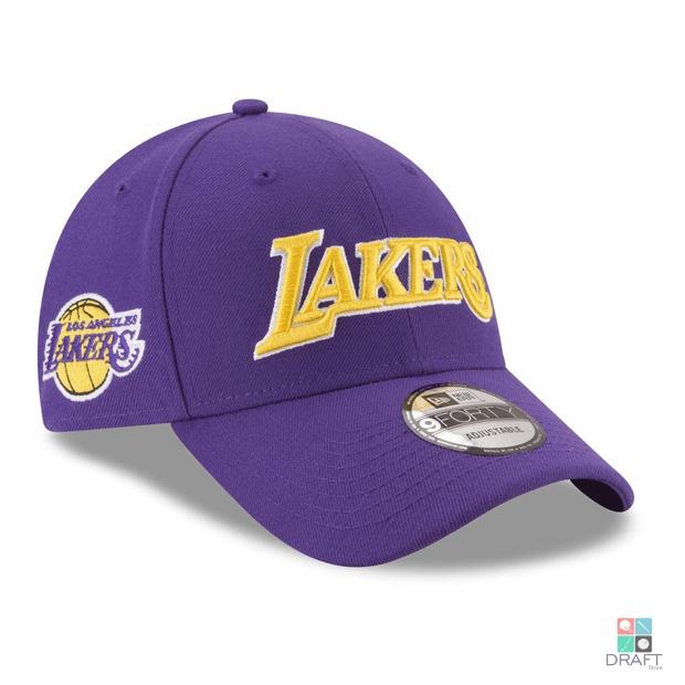 a8e41aa250098 Boné Nba Los Angeles Lakers New Era James Ball Draft Store - R  134 ...