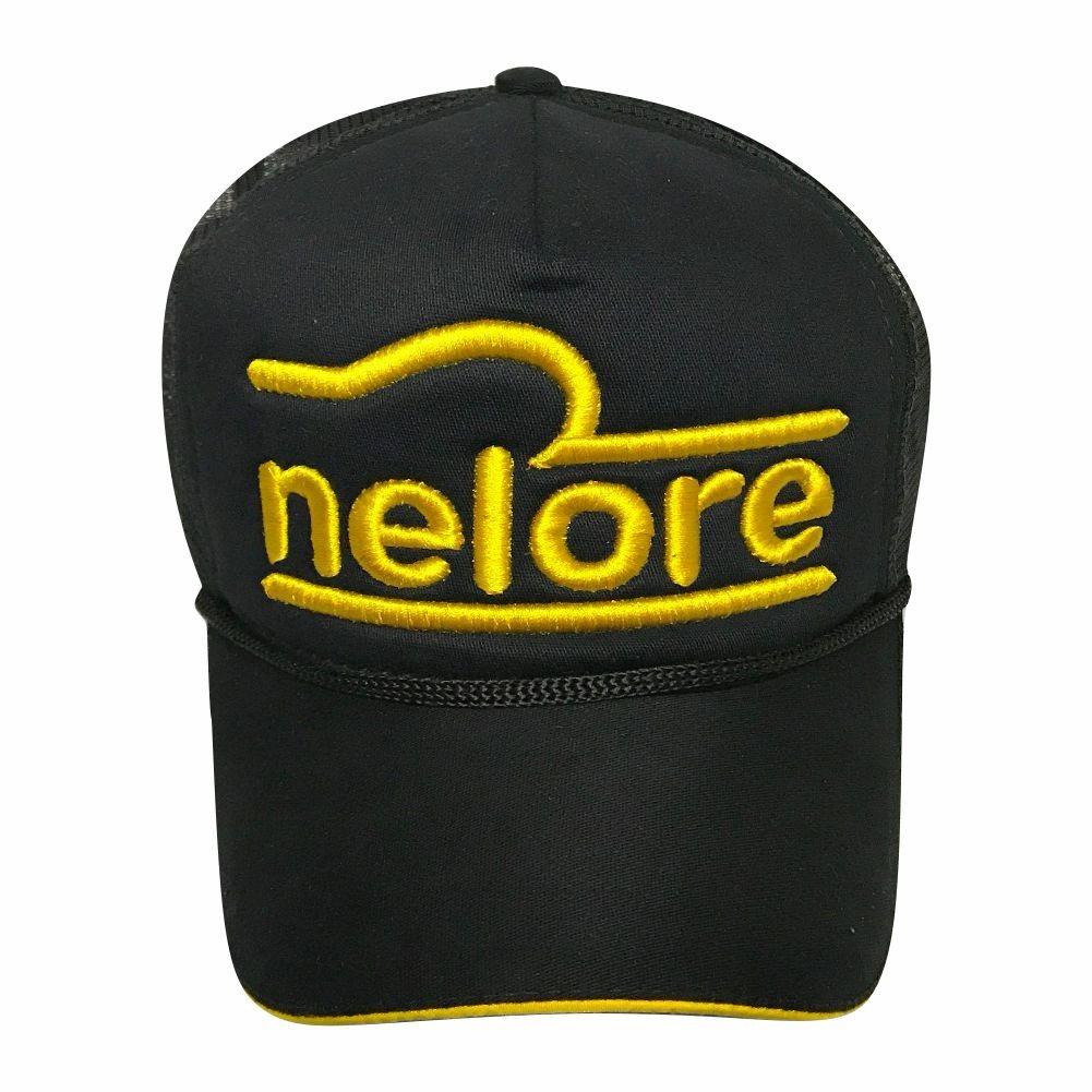 Bone Nelore Vaquejada Modelo Trucker Com Tela - Ref. 112 - R  74 7b01786a070