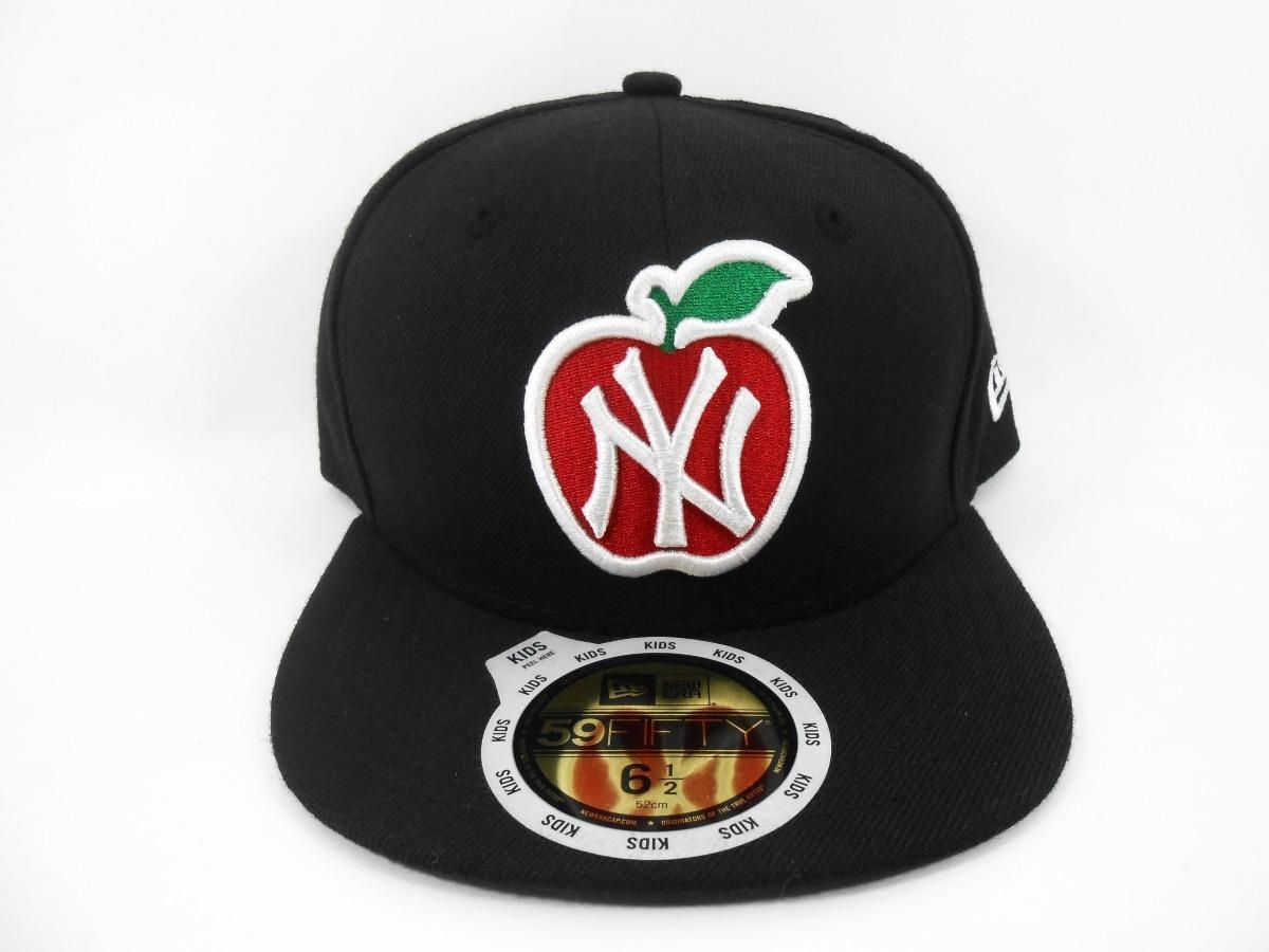 boné new era 5950 new york yankees preto apple. Carregando zoom. bbf20a17ed1