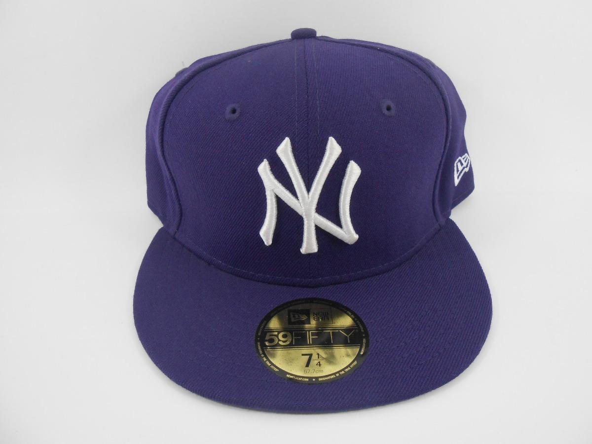 boné new era 5950 new york yankees roxo. Carregando zoom. c8c98f69049