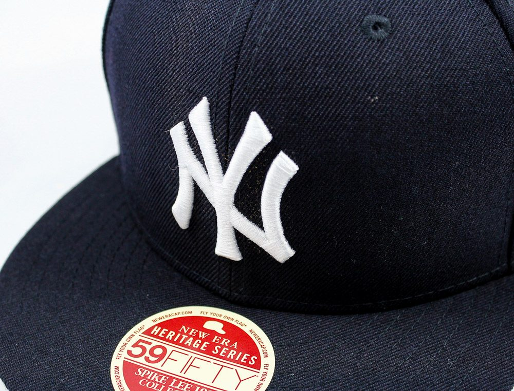Boné New Era 59fifty New York Yankees Spike Lee Azul -7  80f344825d0