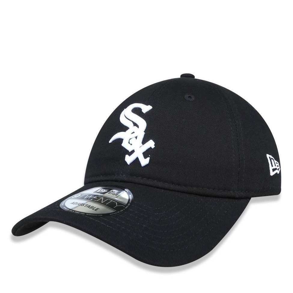boné new era 920 mlb chicago white sox strapback aba curva. Carregando zoom. 78b30a006f4