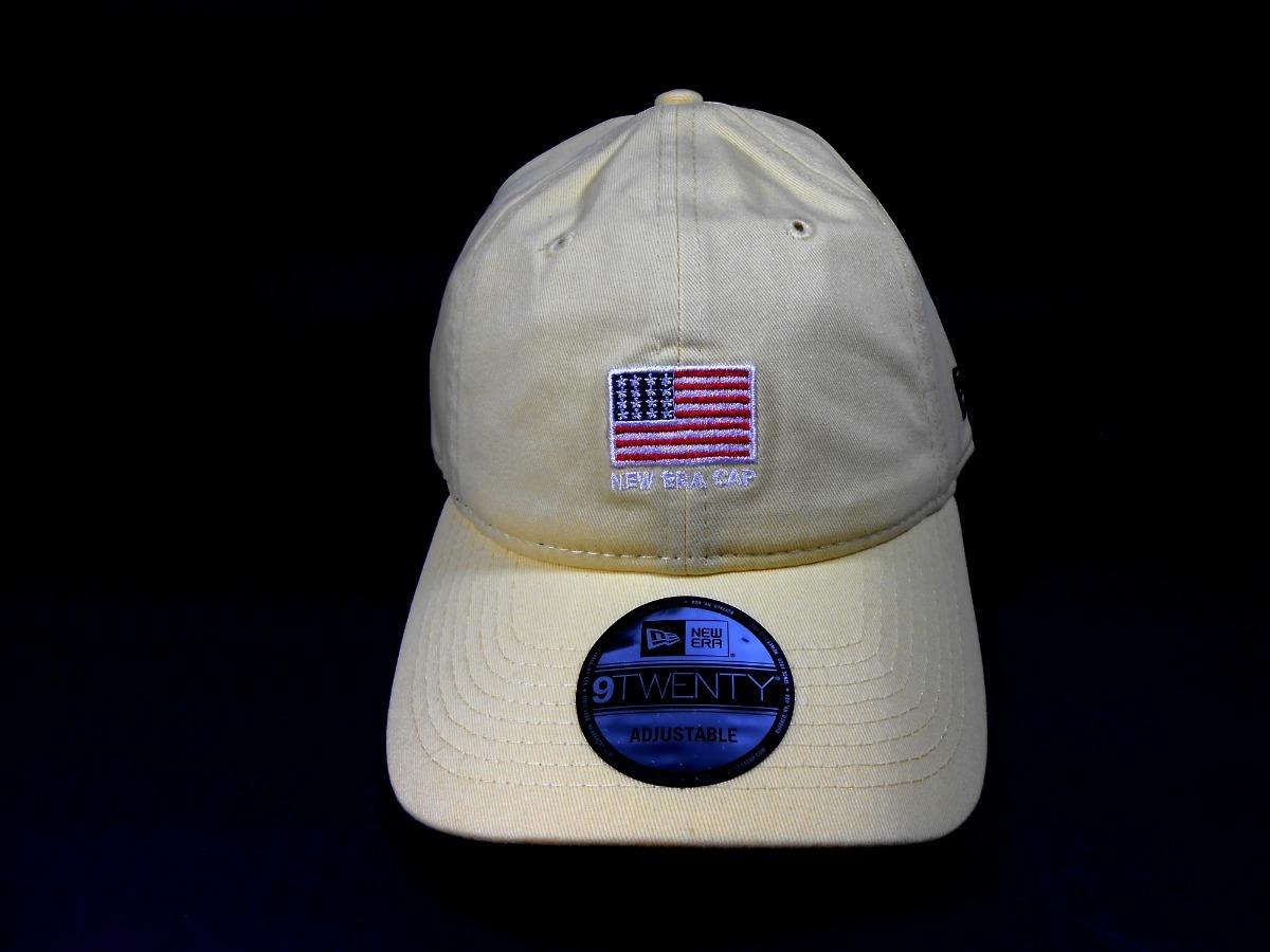6cd53922d79ab Boné New Era 920 Strapback Mini Flag Usa Amarelo - R$ 91,88 em ...