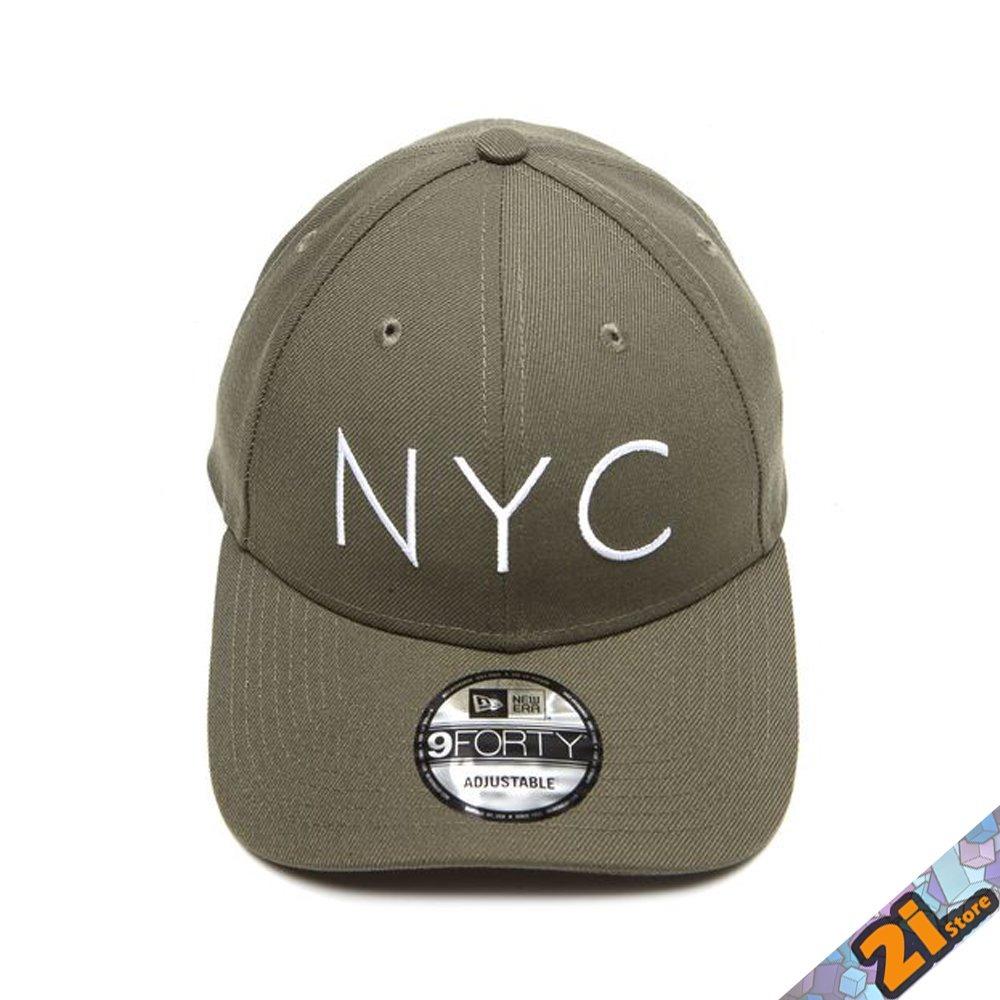 Boné New Era 940 Nyc New York City Verde Original - R  139 b27352bc07a