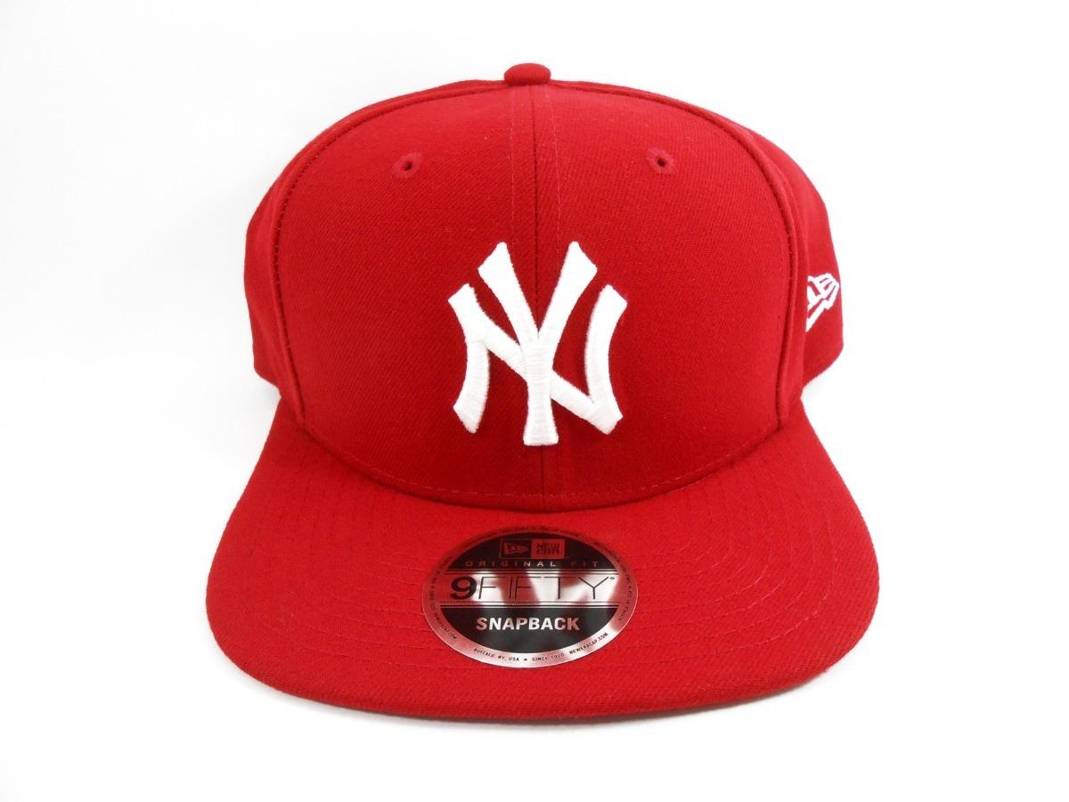 21ba9e4d0a3fc Boné New Era 950 Of Sn Basic New York Yankees Vermelho - R  122