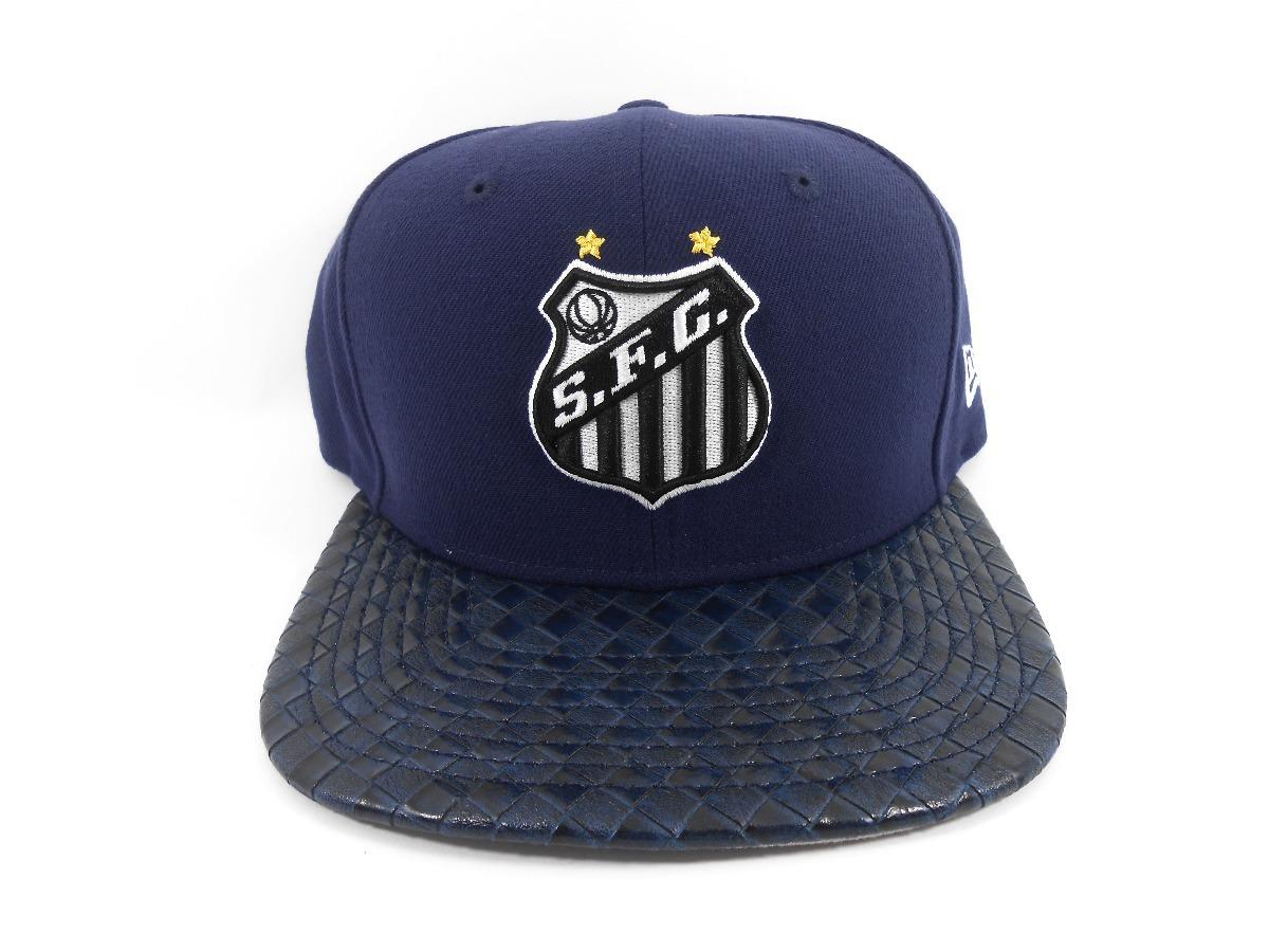 boné new era 950 santos futebol clube simbolo sublima azul. Carregando zoom. 23e6aa1483098