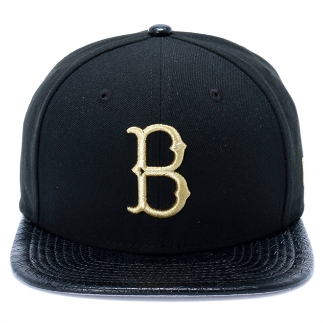 4e9ab9d40 Boné New Era 9fifty Brooklyn Dodgers Snapback Preto Ny-9852 - R  179 ...