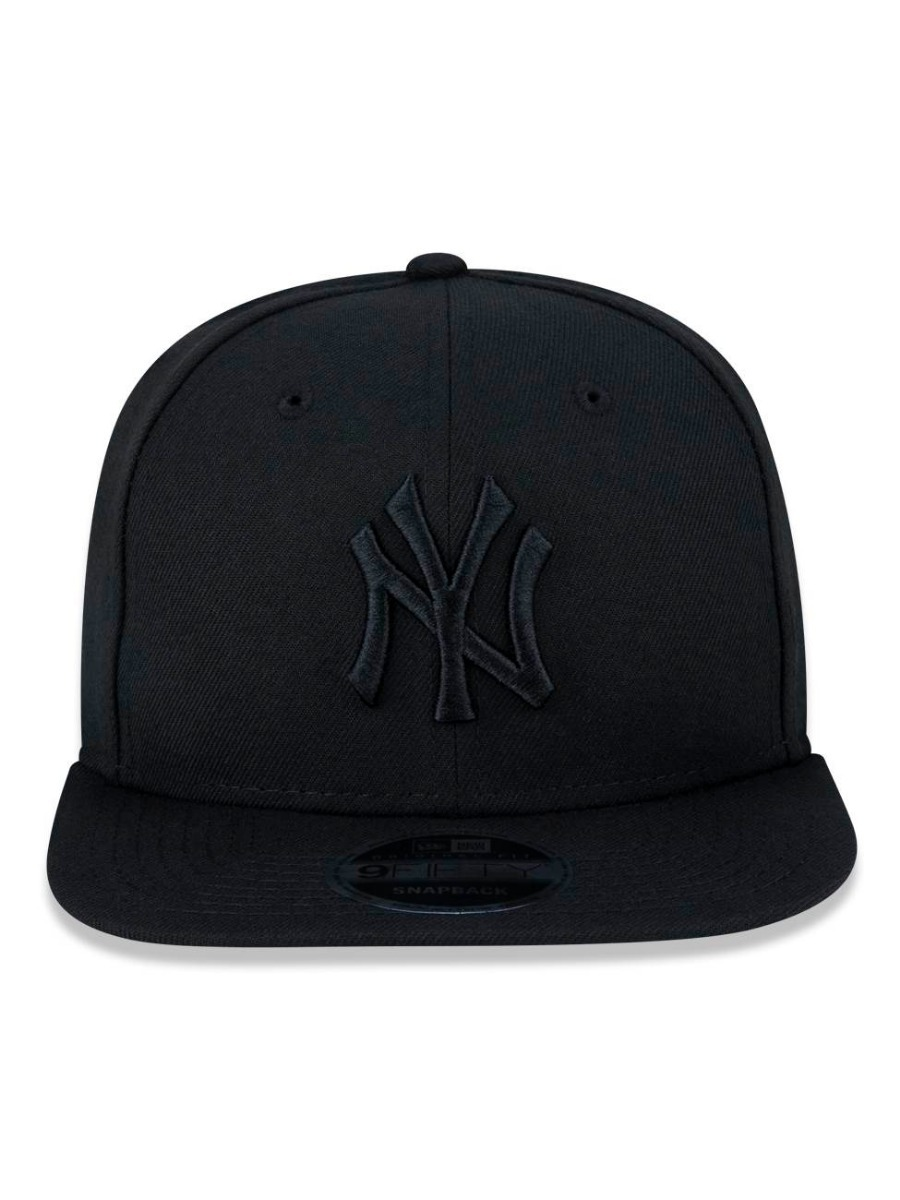 Boné New Era 9fifty Mlb Ny Yankees Original Fit Blackout - R  179 9c87f312a91