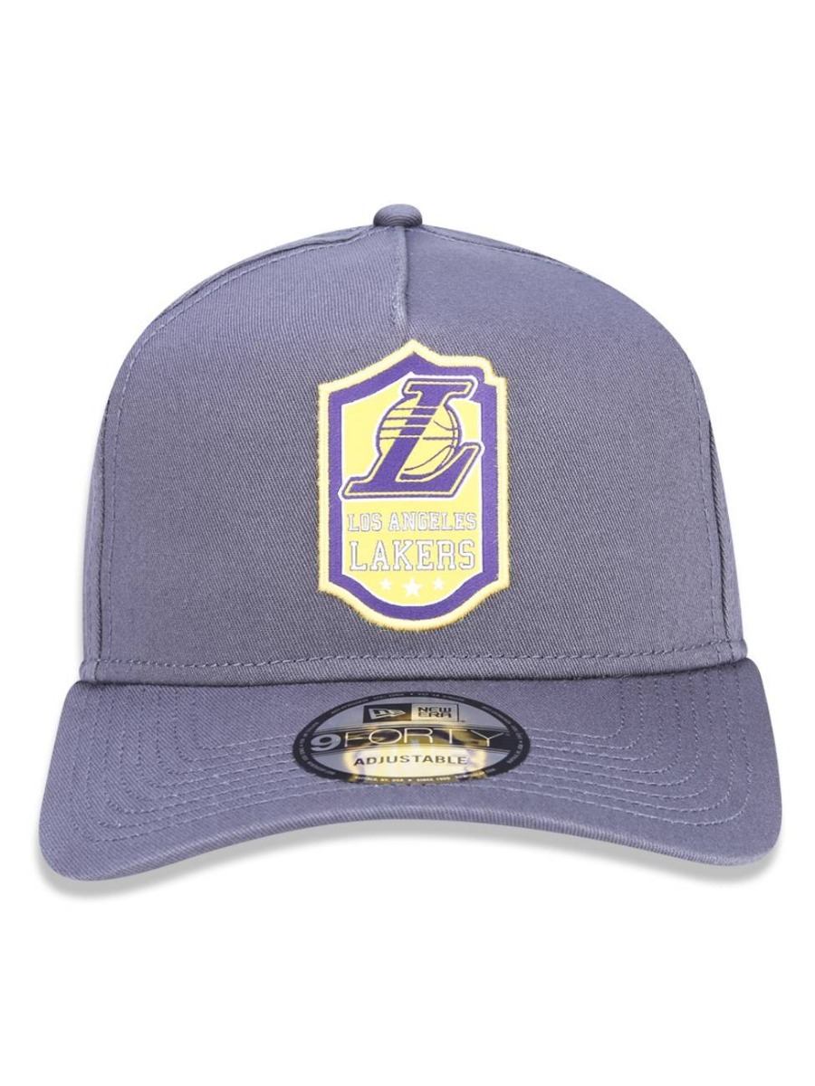 603e40cb68654 Boné New Era 9forty A-frame Nba Los Angeles Lakers Snapback - R  159 ...