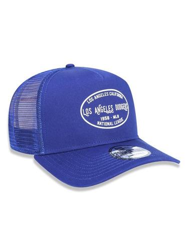 Boné New Era 9forty La Dodgers Trucker Snapback Aba Curva - R  159 ... 6ba72373527