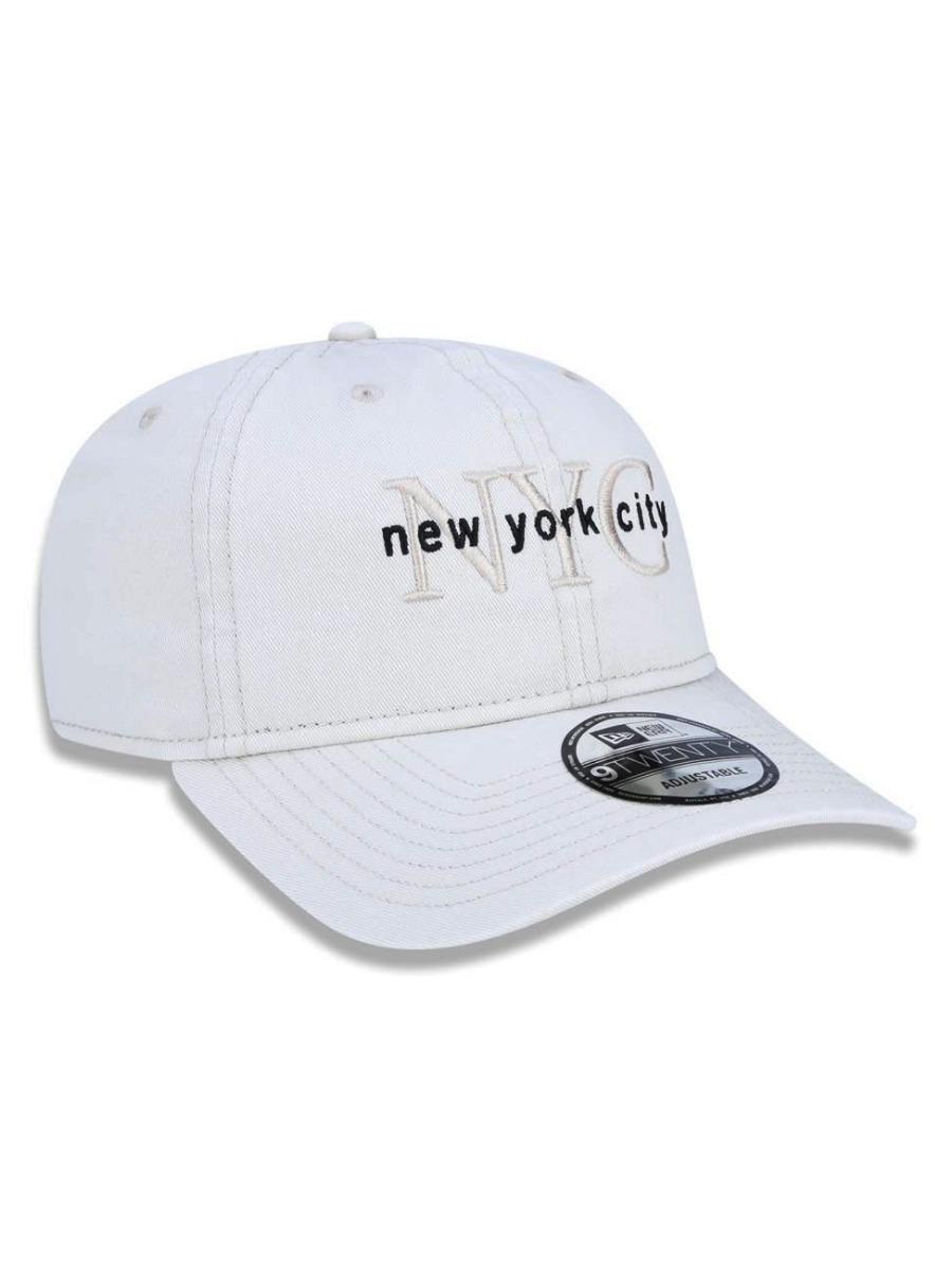 3c4aaf687 boné new era 9forty new york city bege strapback aba curva. Carregando zoom.