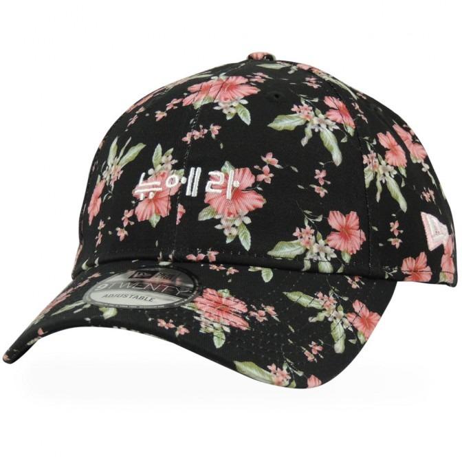 Boné New Era 9twenty Strapback Floral Korea - R  159 5067cab7737