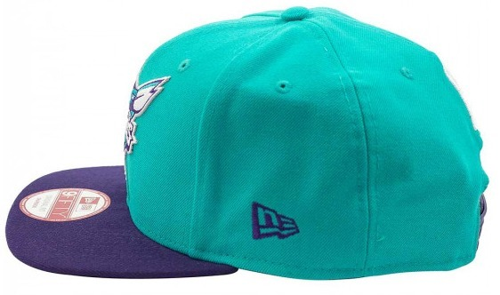 Bone New Era Original Fit Charlotte Hornets Angry Birds - R  179 b819d4b461f