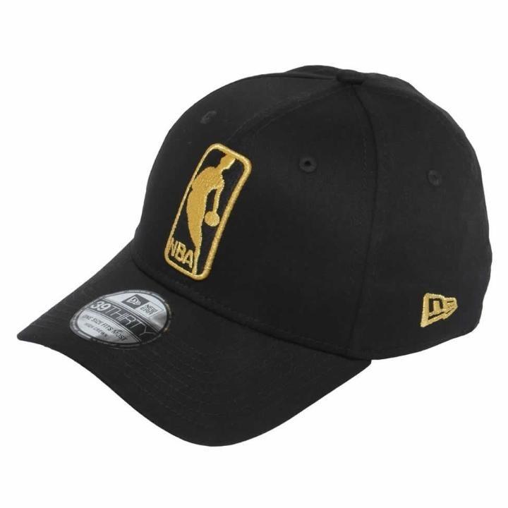 bf6e8cf2b8a73 Boné Nba Logo 3930 Basic Dourado E Preto - New Era - R  127