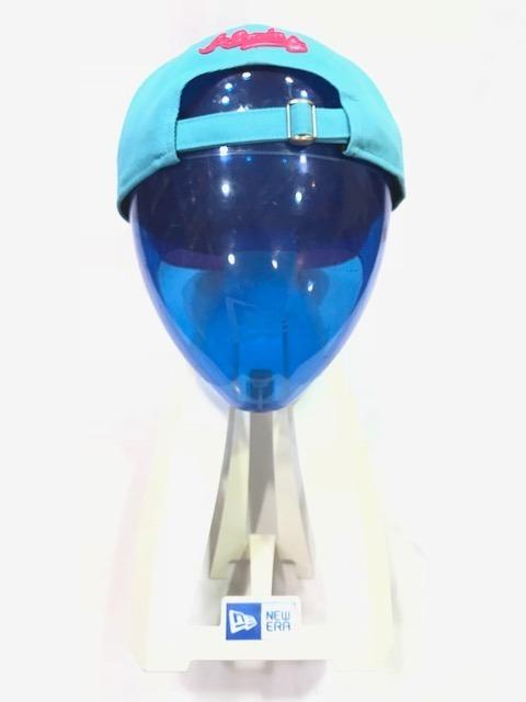 Boné New Era Mbl La Azul rosa Strap 75% Desc - R  49 1b76897c85d