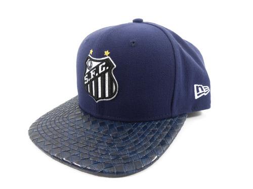 ... 950 santos futebol clube simbolo sublima azul. Carregando zoom... boné  new era bd603de8d5f8e
