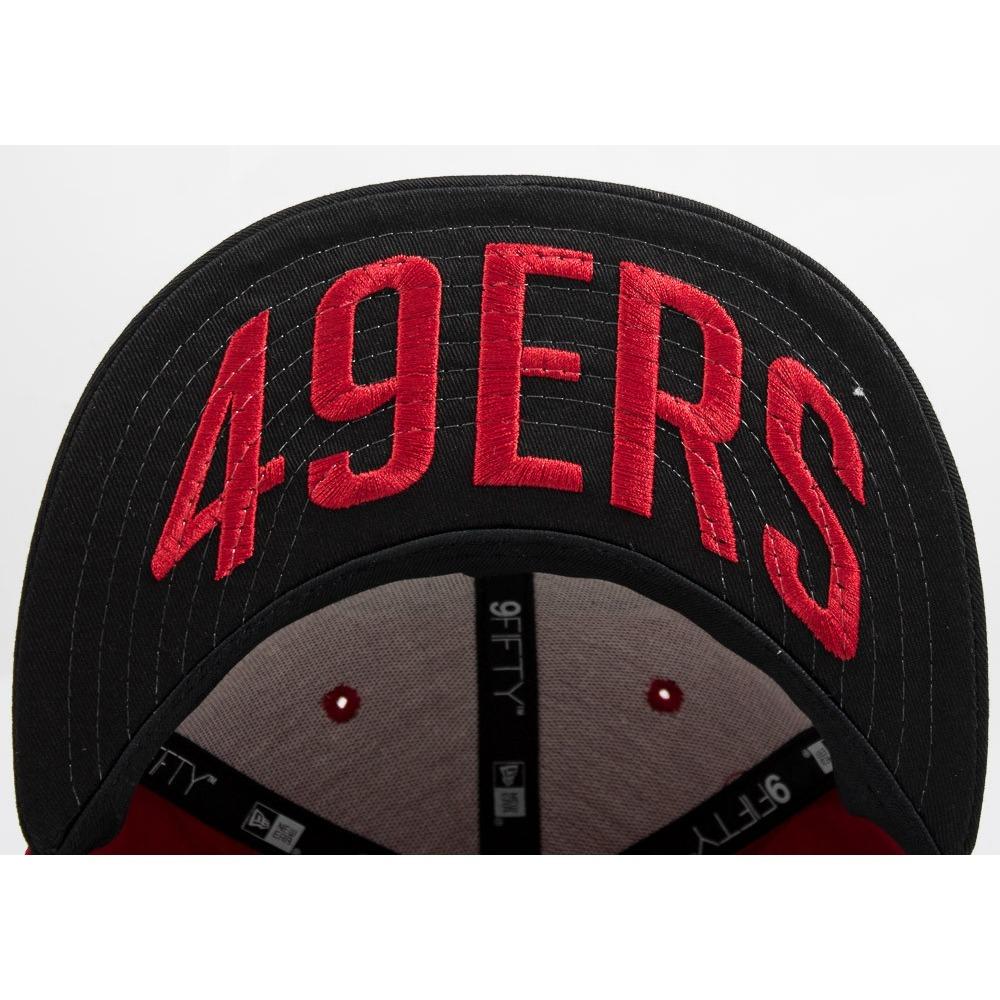Bone New Era Aba Reta 950 Draft Nfl San Francisco 49ers - R  89 0c3794a01b3
