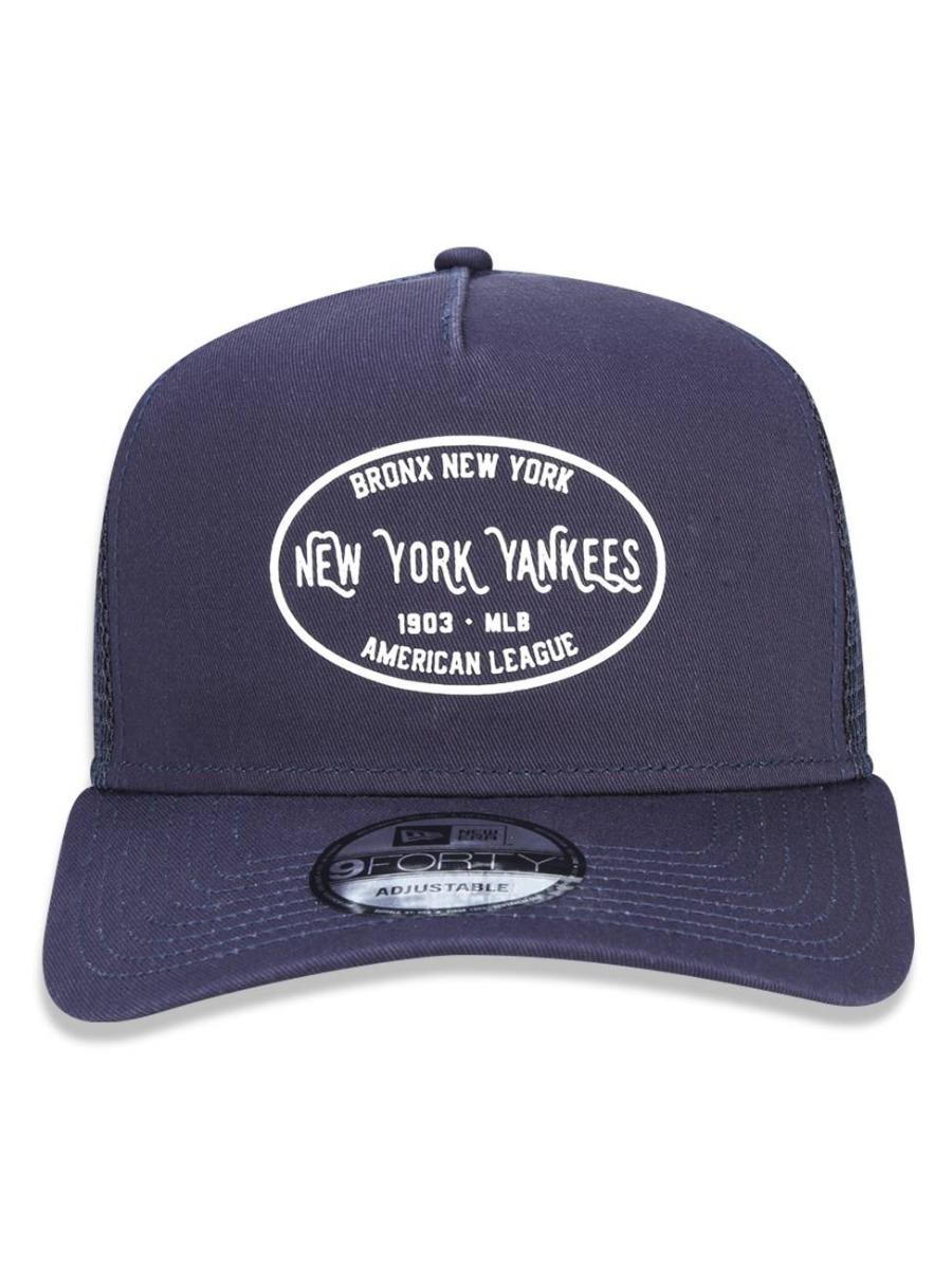 337687239 boné new era a-frame 9forty ny yankees trucker snapback azul. Carregando  zoom.