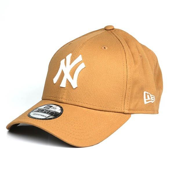 f2efad4d8b746 Boné New Era Aba Curva Ajustável New York Yankees - Caramelo - R ...