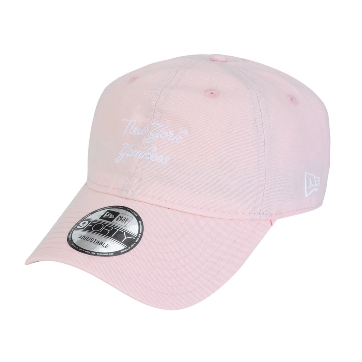 boné new era aba curva dad hat new york yankees - rosa. Carregando zoom. 62b0a4cceed