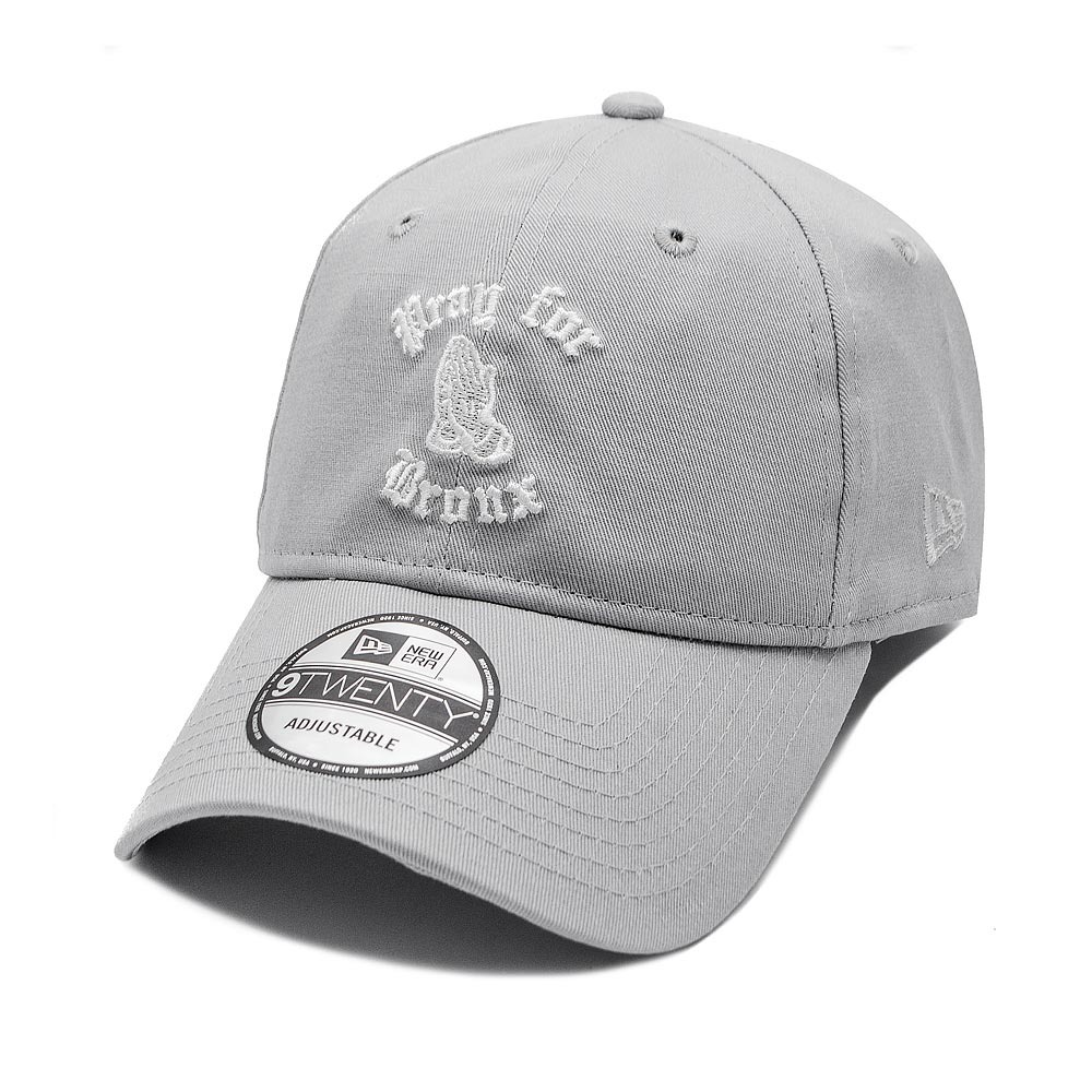 boné new era aba curva dad hat pray for bronx cinza. Carregando zoom. ea8dc54796ade
