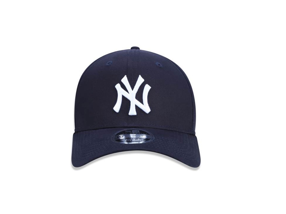Boné New Era Aba Curva Fechado Mlb Ny Yankees Neperbon155 - R  169 ... d60cbb95fc8