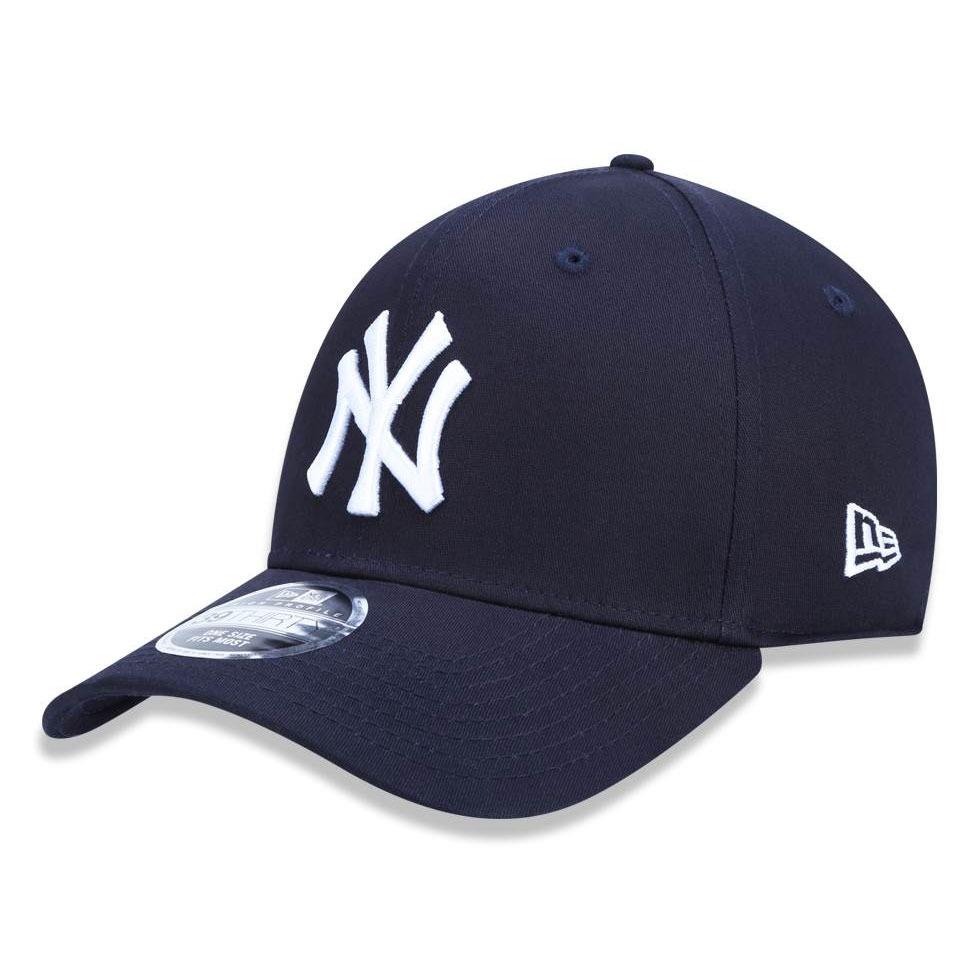 1057730a6d465 boné new era aba curva ny new york yankees azul original. Carregando zoom.