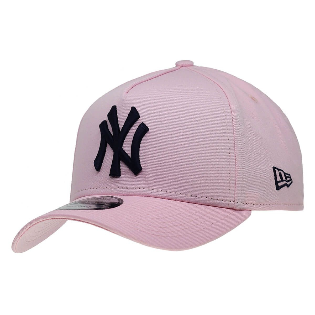 de3faad56 boné new era aba curva snapback ny yankees rosa. Carregando zoom.