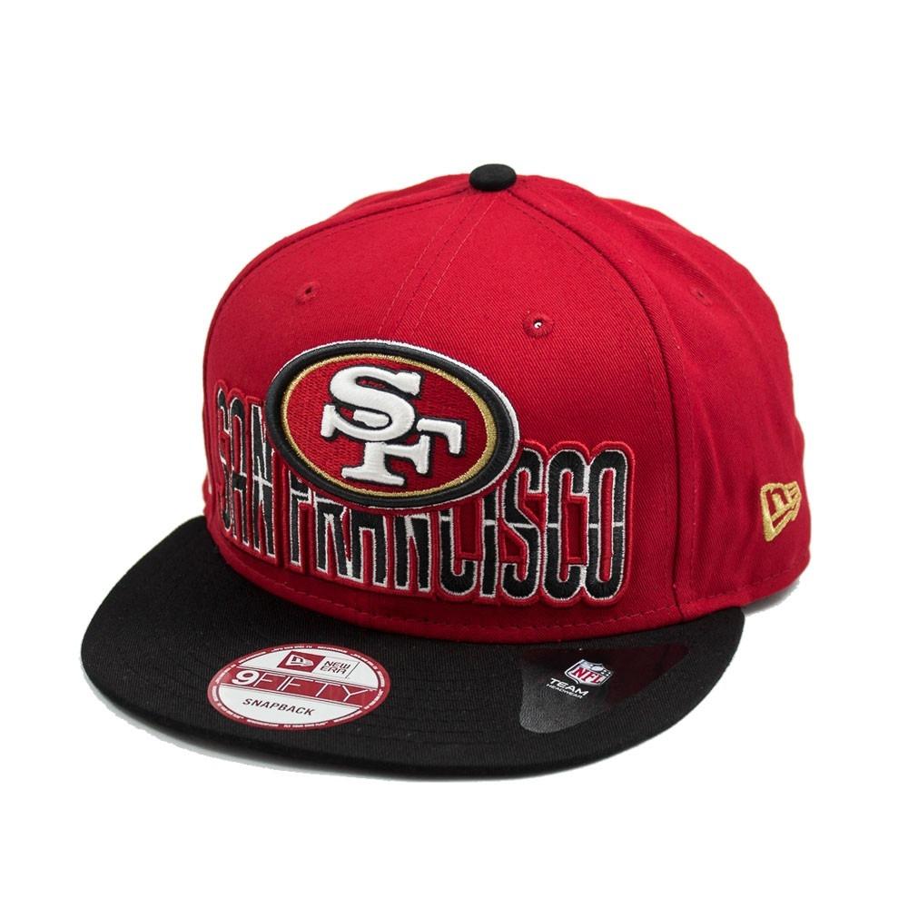 65ac84593c Bone New Era Aba Reta 950 Draft Nfl San Francisco 49ers - R$ 89,90 ...