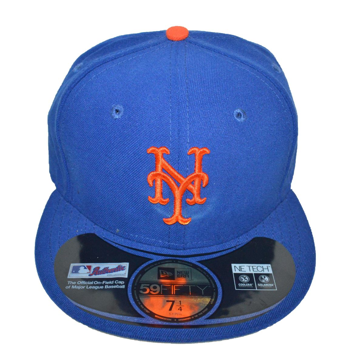 50ac22313e663 Boné New Era Aba Reta Fechado 5950 Mlb New York Mets - R  99