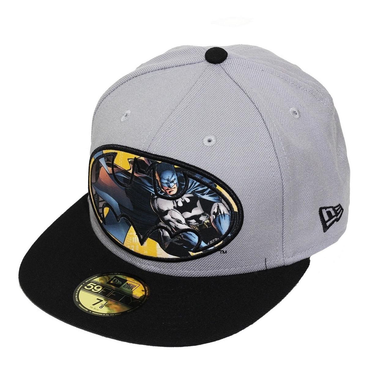 3a14337d4b Boné New Era Aba Reta Fechado Batman Circle Plane - R$ 89,90 em ...
