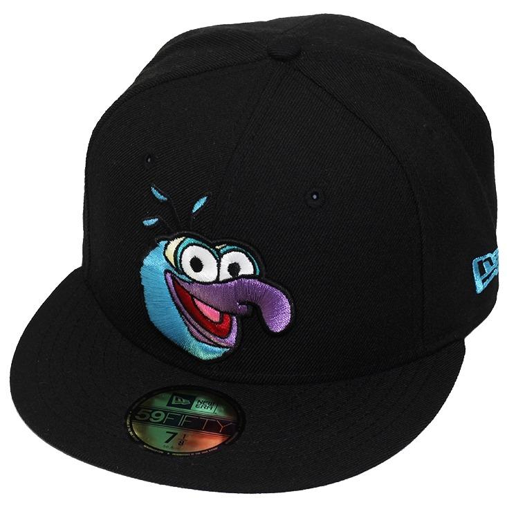 Boné New Era Aba Reta Fechado The Muppets Gonzo - R  99 5378b6e63f6