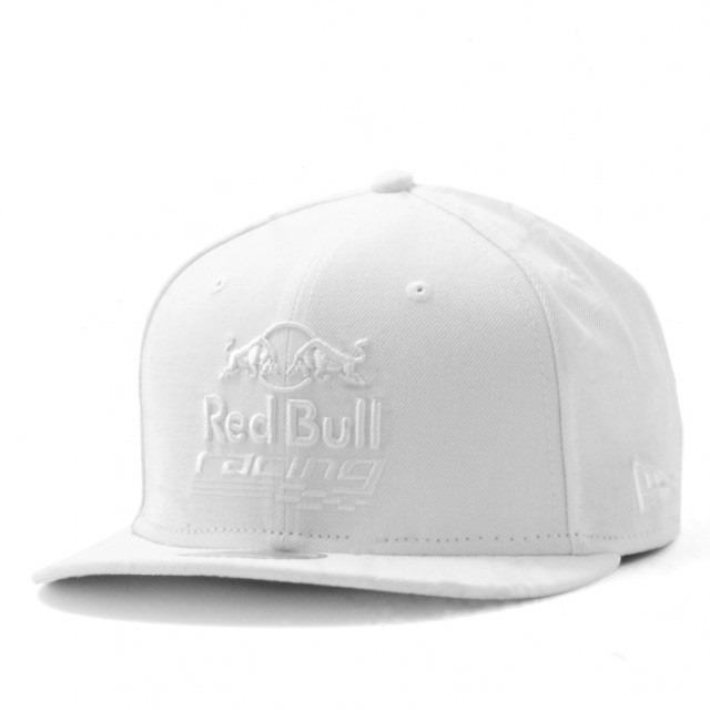 Boné New Era Aba Reta Red Bull Racing Branco Snapback - R  169 3f6db4f36bd