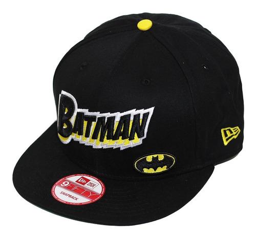boné new era aba reta snapback batman character - preto