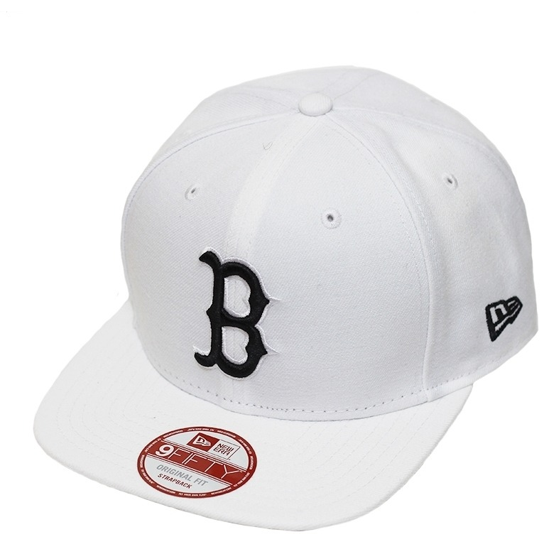 Boné New Era Aba Reta Snapback Mlb Boston Of Colors Branco - R  149 ... cc66c6e2fa3
