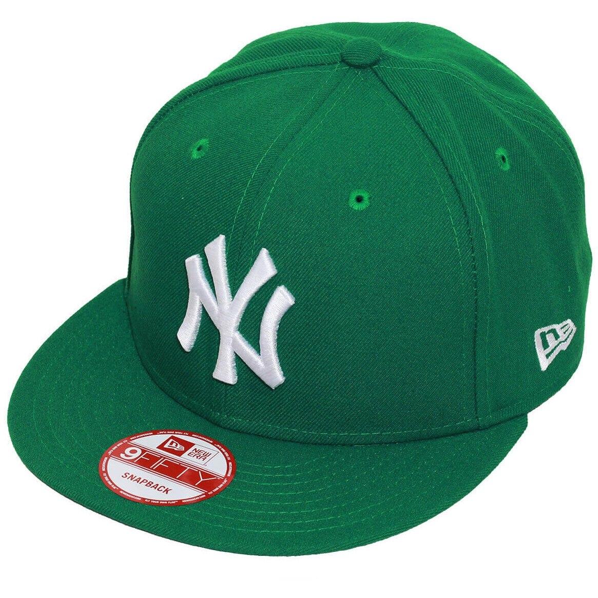 9871b42eb3316 boné new era aba reta snapback mlb ny yankees colors verde. Carregando zoom.