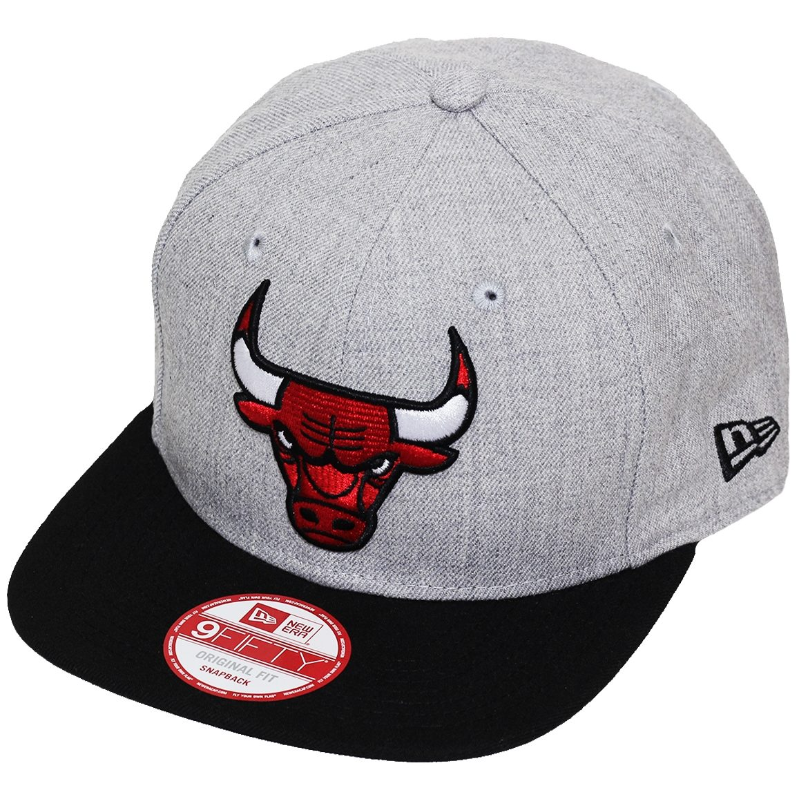 boné new era aba reta snapback nba chicago bulls heather gre. Carregando  zoom. a8bac17abbe