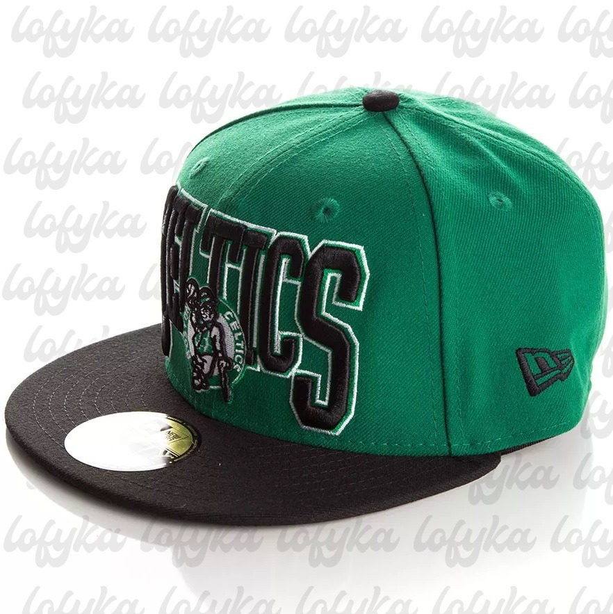 f01c447b1d287 boné new era boston celtics original aba reta verde. Carregando zoom.
