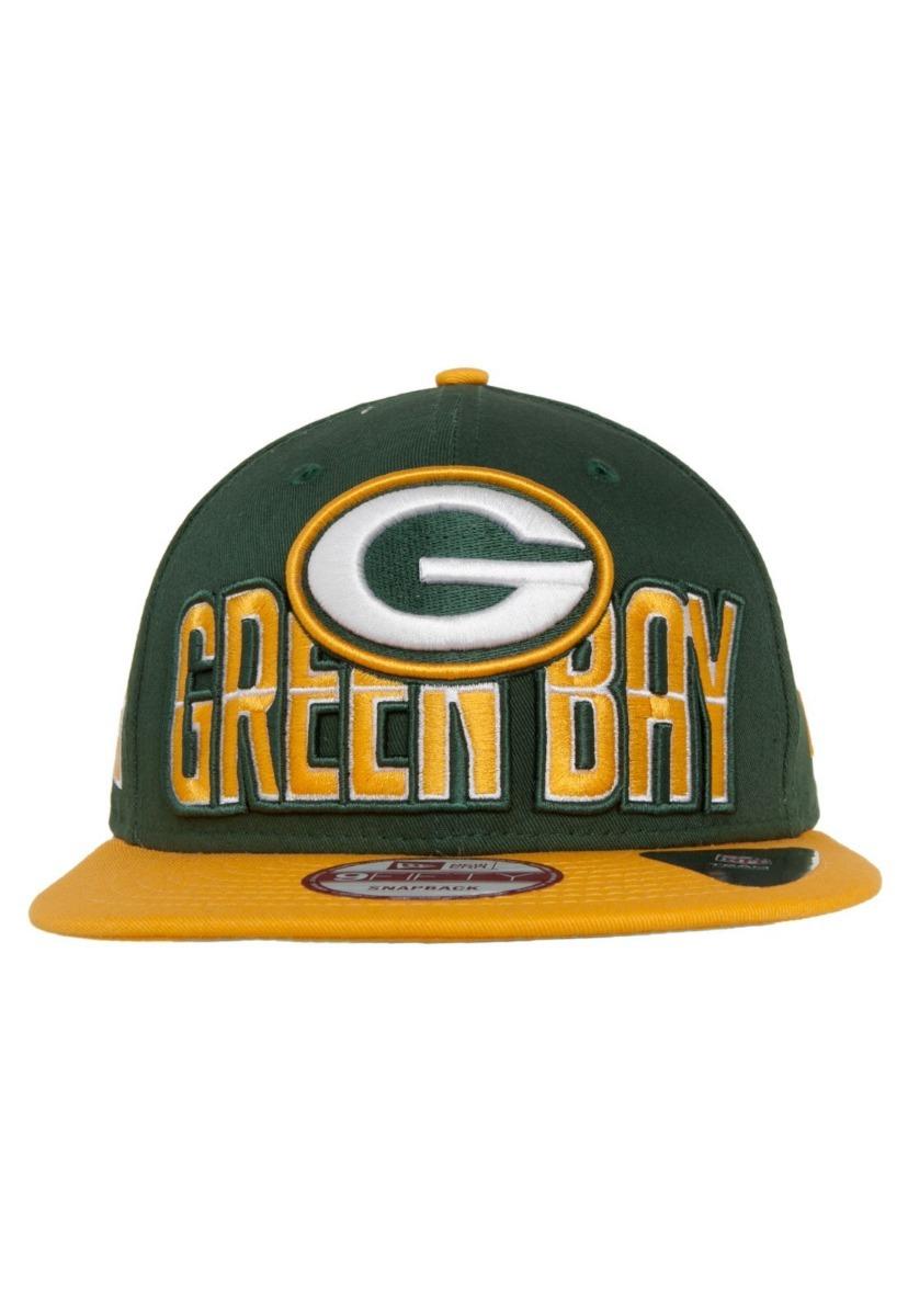 boné new era green bay packers verde 6792 original. Carregando zoom. 05721f36469