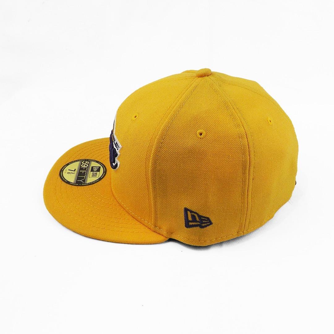 boné new era la lakers - amarelo. Carregando zoom. c1445a49a93