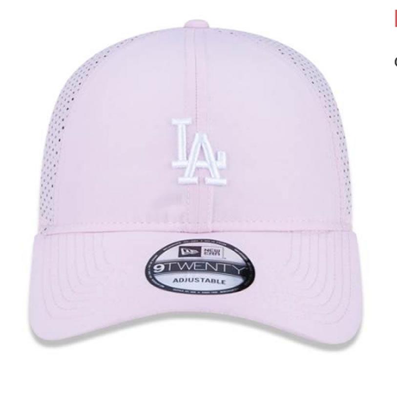 boné new era- los angeles dodgers rosa claro+brinde. Carregando zoom. 941211854ae