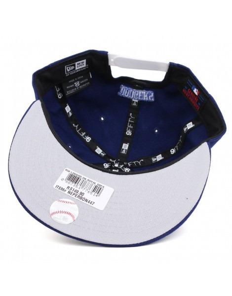 Boné New Era Los Angeles Dodgers Snapback Aba Reta Original - R  159 ... 985b1e51f22