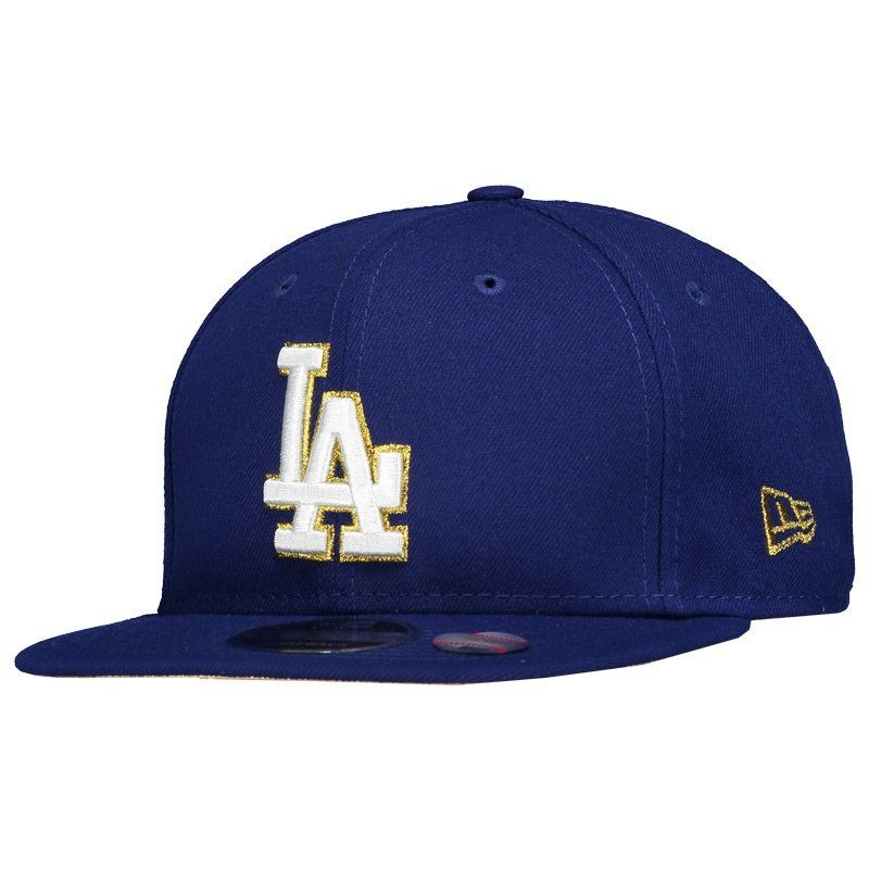 boné new era mlb los angeles dodgers 950 royal e dourado. Carregando zoom. e304dbd60b0