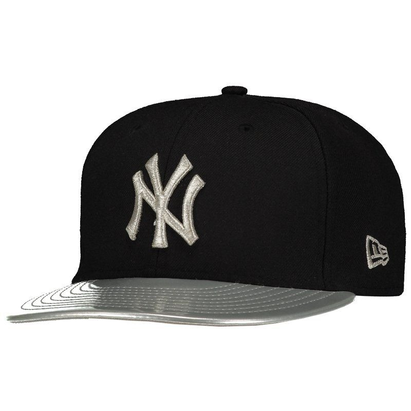 e116796f03 boné new era mlb new york yankees 950 cinza e preto. Carregando zoom.