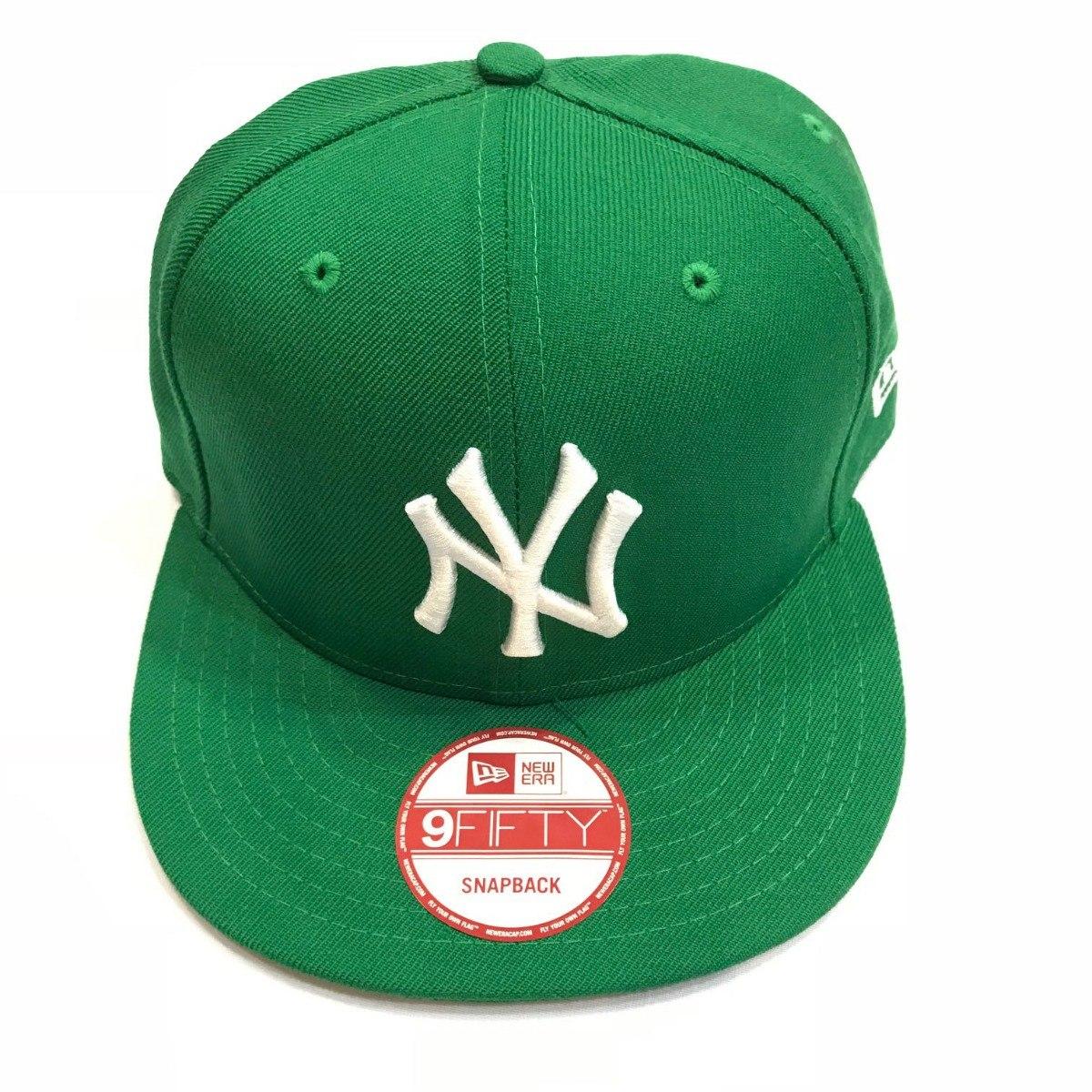 069653f429 Boné New Era Mlb Ny Verde Snapback - R$ 159,00 em Mercado Livre