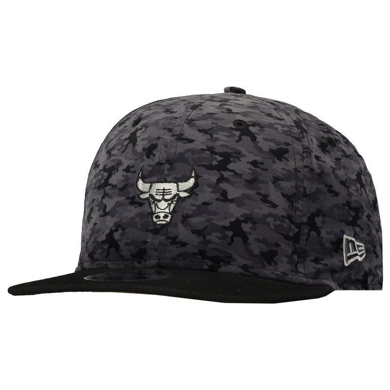 60cc6302b8f9d Boné New Era Nba Chicago Bulls 950 Fit Preto - R  89